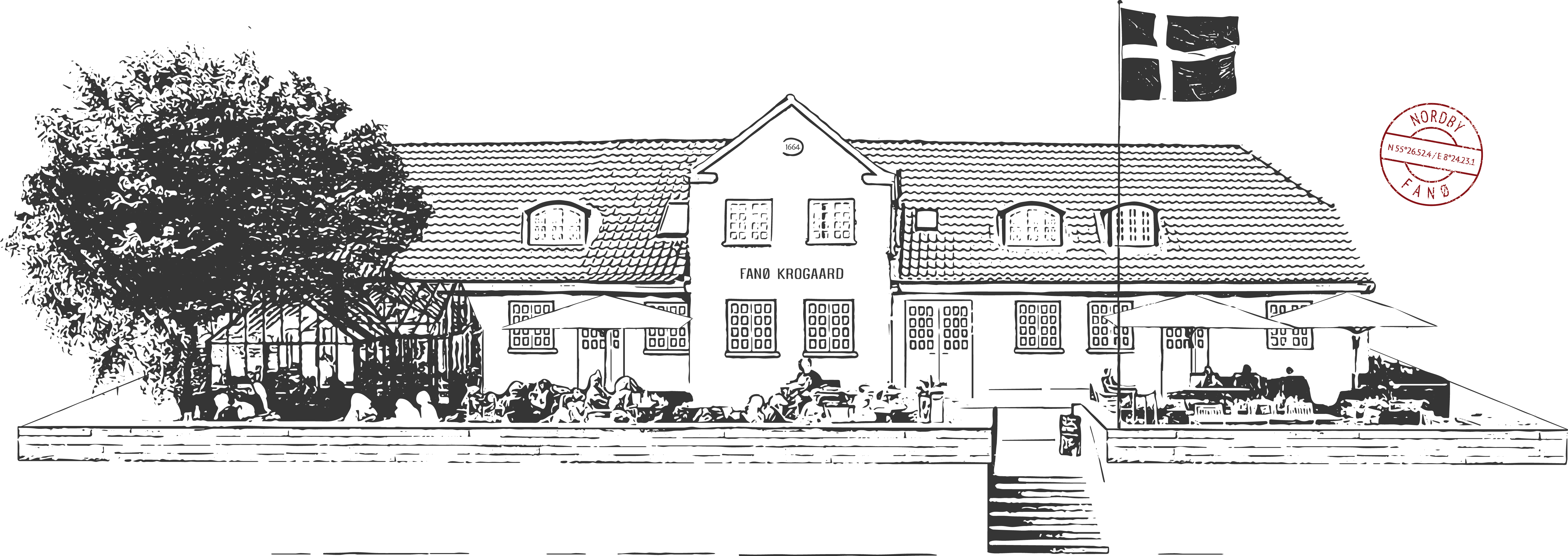 Fanø Krogaards facade